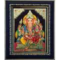 Lakshmi Ganesha Tanjore Paintings