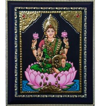 Dhana Lakshmi Tanjore Paintings