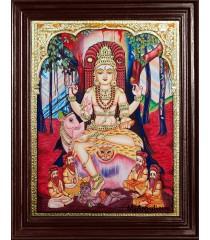 Dakshinamurty Tanjore Painting