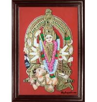 Madura Kaliamman Tanjore Painting