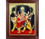 Durga Devi Tanjore Painting