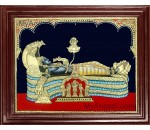 Shree Anantha Padmanabha Swami Tanjore Painting