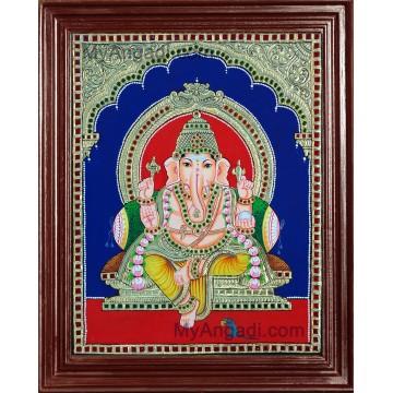 Ganesha Tanjore Paintings