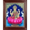 Lakshmi in Lotus Tanjore Paintings