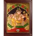 Krishna Tanjore Paintings