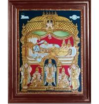 Pallikonda Ranganatha Perumal Tanjore Paintings