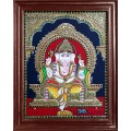 Ganesha Tajore Paintings