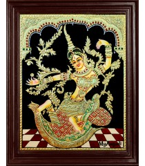 Indonesia Sita Tanjore Painting