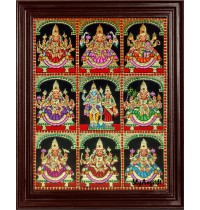 Ashtalakshmi Tanjore Paintings