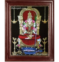Kamatchi Tanjore Painting, Amman Tanjore Painting