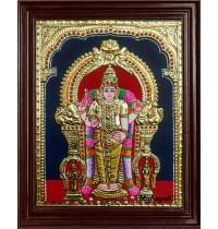 Thiruchendhur Murugan Tanjore Painting