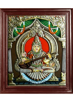 Saraswati Tanjore Paintings