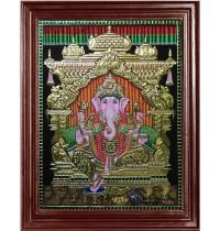 Ganapathi Tanjore Paintings
