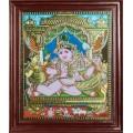 Butter Krishna Tanjore Paintings