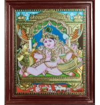 Butter Krishna Tanjore Paintings