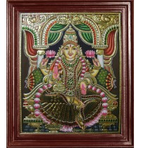 Iswarya Lakshmi Tanjore Paintings