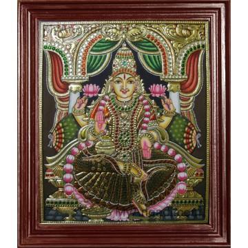 Iswarya Lakshmi Tanjore Paintings