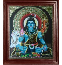 Lord Siva Tanjore Paintings