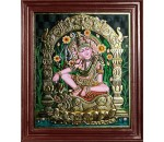 Lord Siva in Indonesia Style Tanjore Paintings
