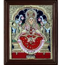 Lakshmi Tanjore Painting