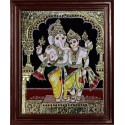 Ganesha and Murugan Tanjore Paintings