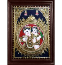 Yasodha Krishna Tanjore Paintings