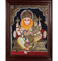 Lakshmi Narasimmar Tanjore Paintings