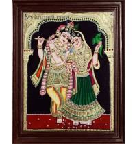 Radhe Krishna Tanjore Paintings