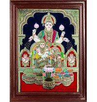 Kubera Lakshmi Tanjore Paintings