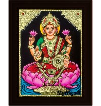Lakshmi Small Tanjore Painting