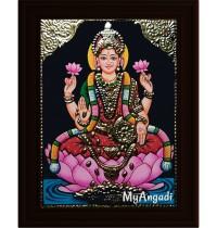 Gaja Lakshmi Small Tanjore Painting
