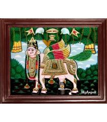 Kamadhenu Tanjore Painting