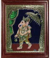 Mapillai Ganesha Tanjore Paintings