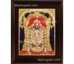 Balaji Emboss Tanjore Painting, Tirupati Venkateswara Perumal Tanjore Painting