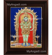 Hanuman Tanjore Painting, Anchaneyar Tanjore Painting