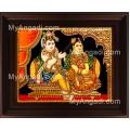 Jada Krishna Tanjore Painting, Krishna Tanjore Painting