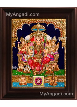 Lalithambigai Tanjore Painting, Amman Tanjore Painting