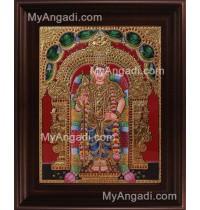 Murugan Tanjore Painting, Murugar Tanjore Painting