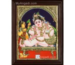 Butter Krishna Tanjore Painting