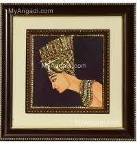 Europe Man Tanjore Painting
