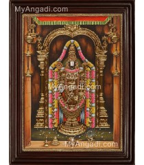 Thirupathi Balaji Tanjore Painting
