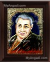 Pondichery Annai Tanjore Painting, Saint Tanjore Painting