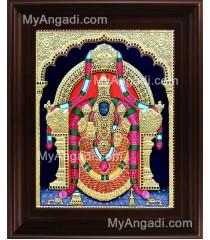 Thaayar Tanjore Painting, Tirupati Padmavathi Thayar Tanjore Painting