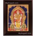 Thiruchendhur Murugan Tanjore Painting, Murugar Tanjore Painting
