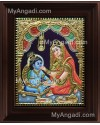 Yasodha Krishna Tanjore Painting, Krishna Tanjore Painting